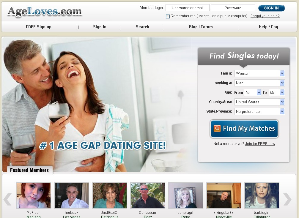 old aged dating sites