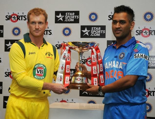MS-Dhoni-George-Bailey-Star-Sports-ODI-Idia-vs-australia-2013