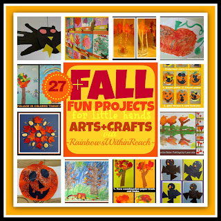 photo of: Art and Crafts for Fall for Children (RoundUP via RainbowsWithinReach)