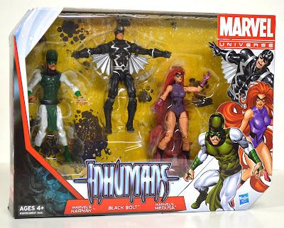 Hasbro Marvel Universe Inhumans Set