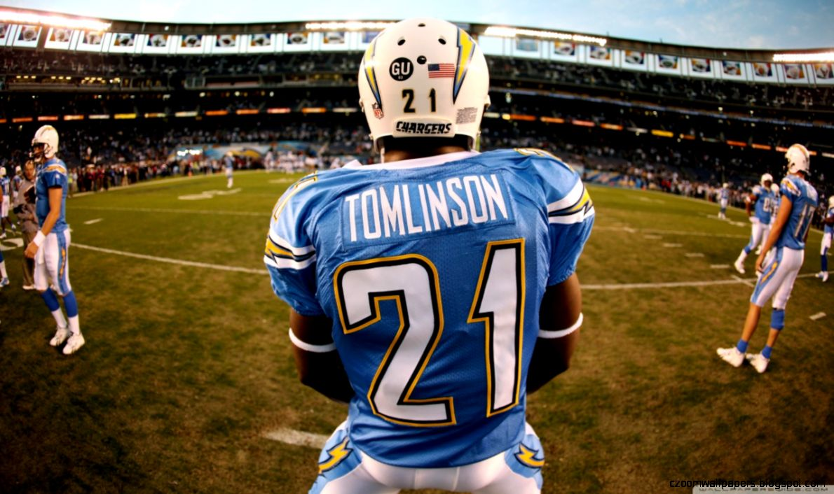 San Diego Chargers Ladainian Tomlinson Wallpapers  Hd Wallpapers