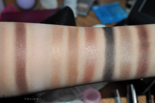 Anastasia All Eye Want Palette Swatches