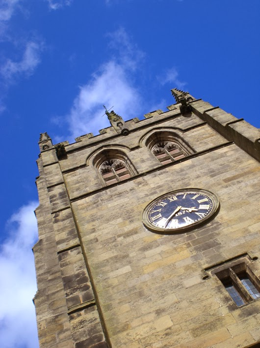 Derbyshire village church
