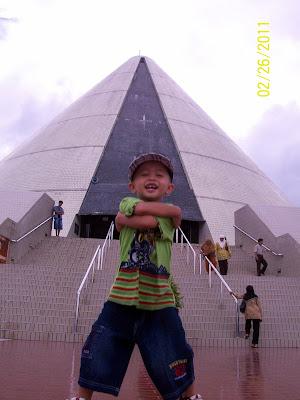 anakku dan museum Jogya Kembali