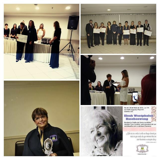 Acadêmica da Academia de Letras e Artes de Goiás