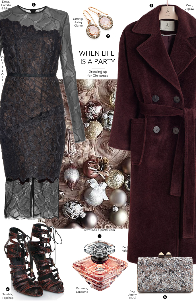 Christmas outfit idea via www.look-a-porter.com style & fashion blog