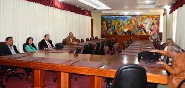 Gobierno regional conformó mesa de trabajo con empresarios salvadoreños