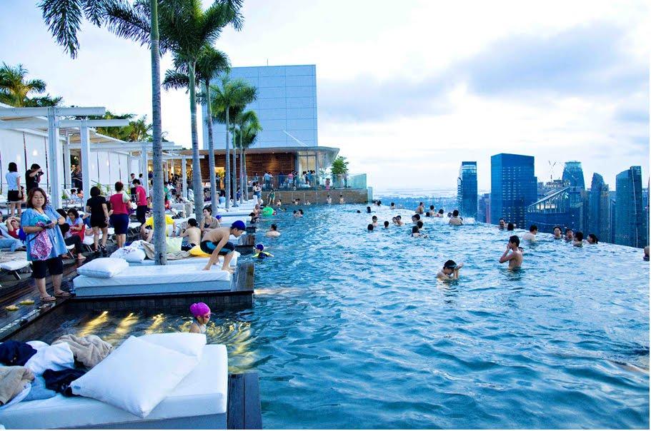 A piscina mais alta do mundo gigantes do mundo - Piscinas altas ...