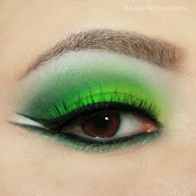 MakeupWithdrawal St Patricks Day makeup