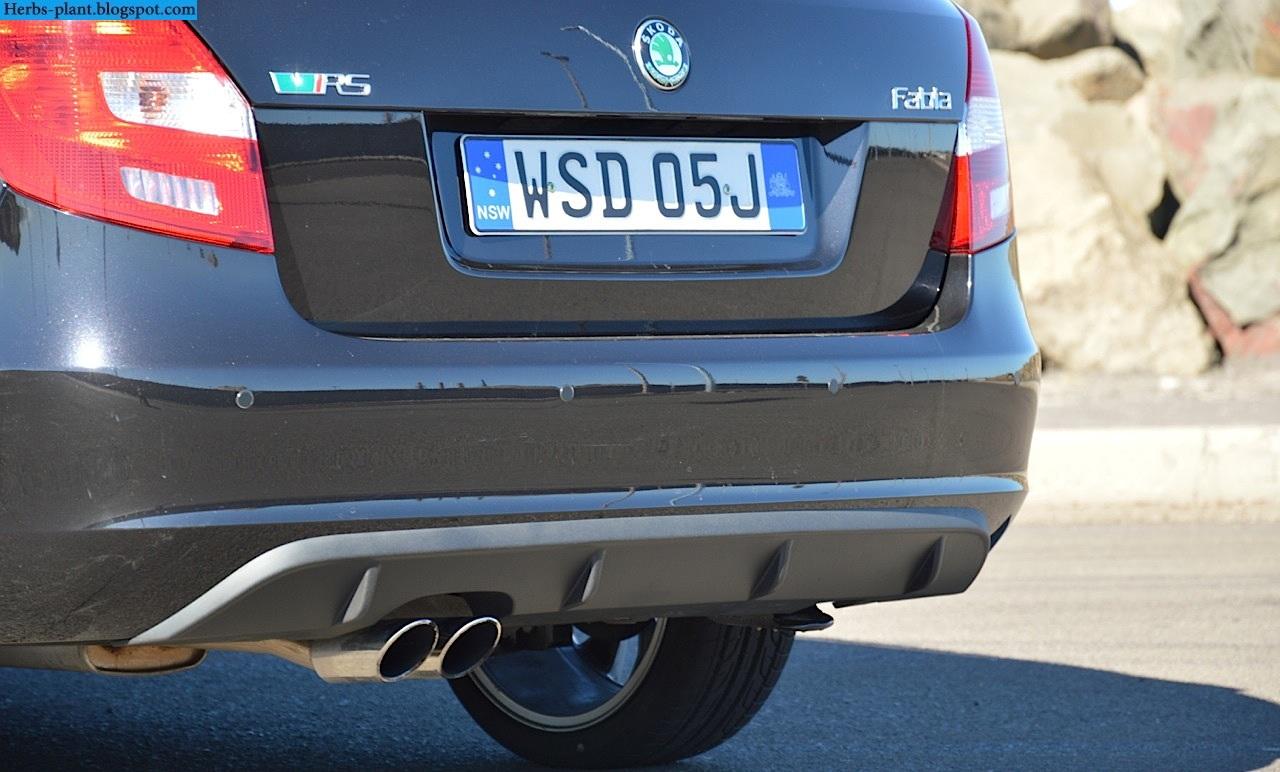 Skoda fabia car 2013 exhaust - صور شكمان سيارة سكودا فابيا 2013