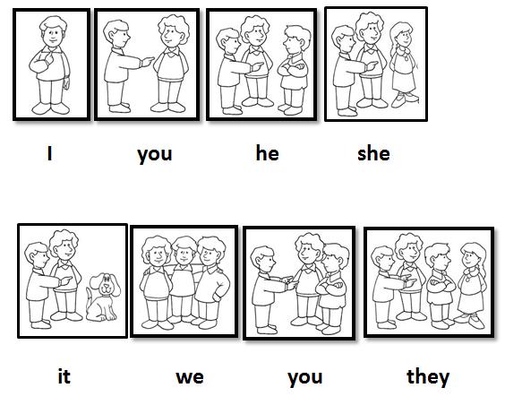 Personal Pronouns Worksheet for Pinterest