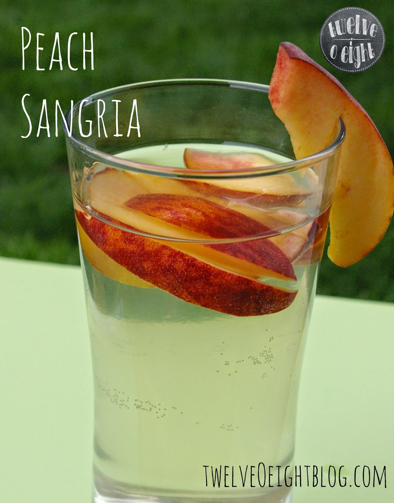 Refreshing Peach Sangria