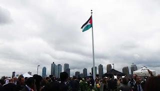 Bendera Palestin akhirnya dikibar di Bangunan PBB