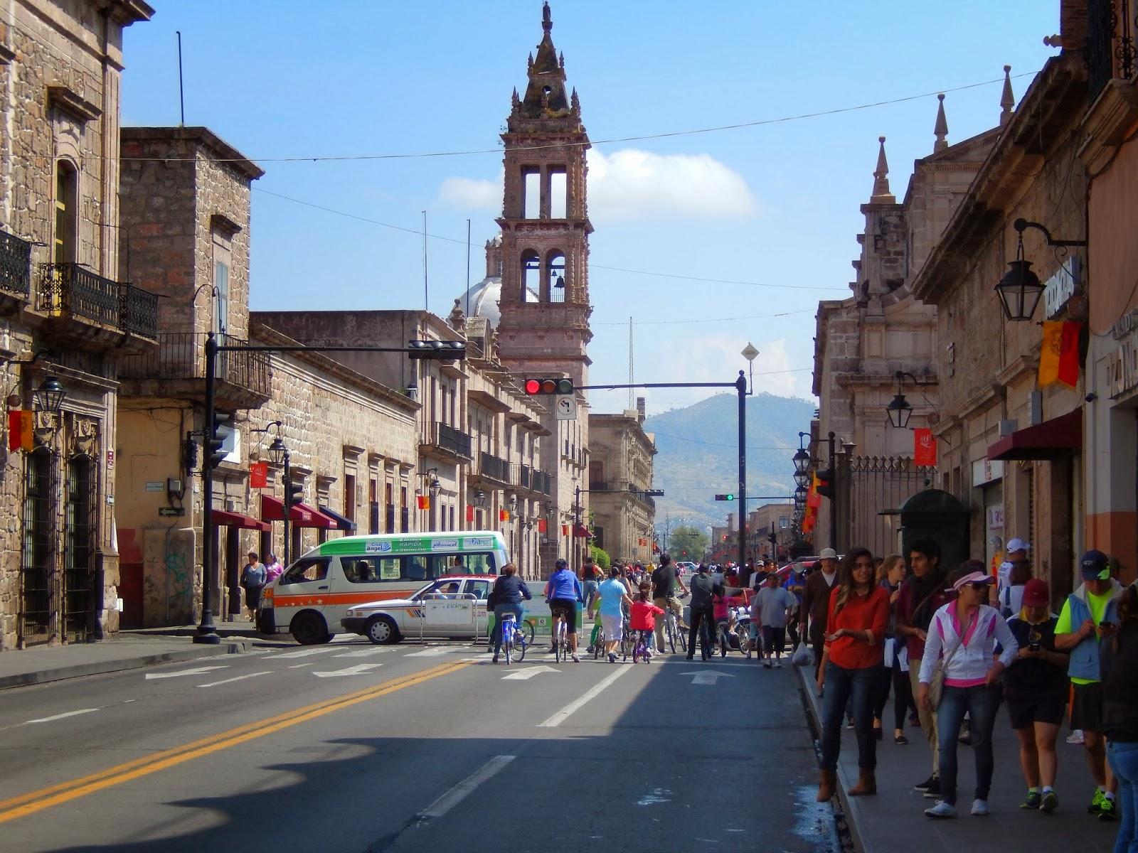 centro, morelia, ciclismo, mexico