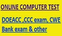 CCC , DOEACC ONLINE EXAM