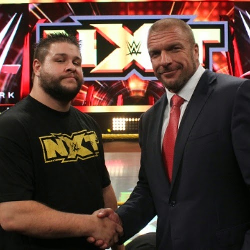 NXT superstar Kevin Steen and Paul Levesque