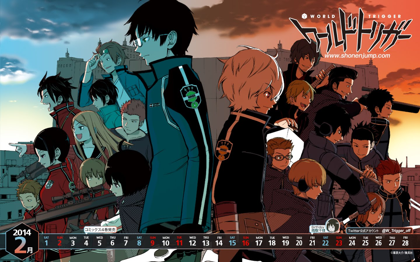 World trigger 58 subtitle indonesia