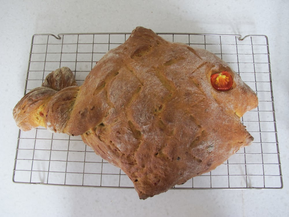 Flossie teacakes family bake off for Fish shaped bread
