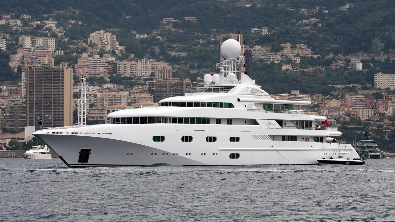 Pegasus Viii Superyacht Photos Marine Vessel Traffic