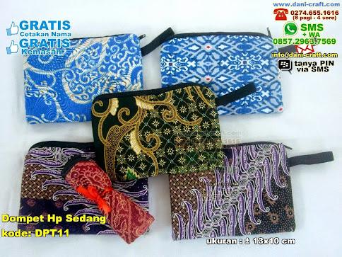 Dompet Hp Sedang Kain Batik