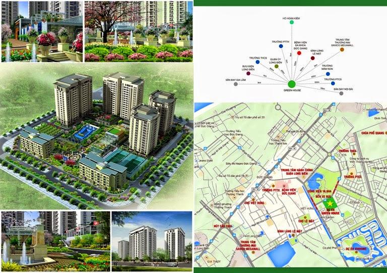 Chung cư Green House Việt Hưng Long Biên