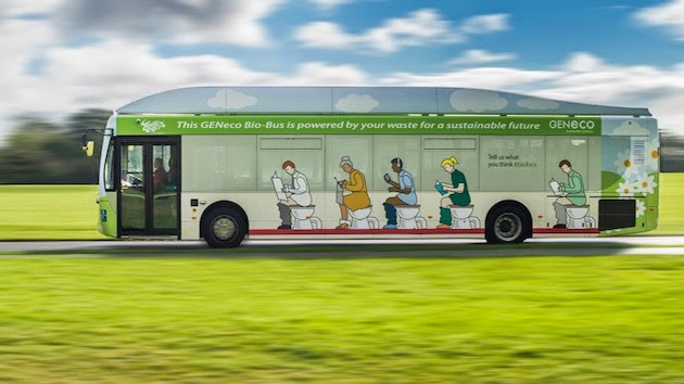 poo bus UK by Geneco