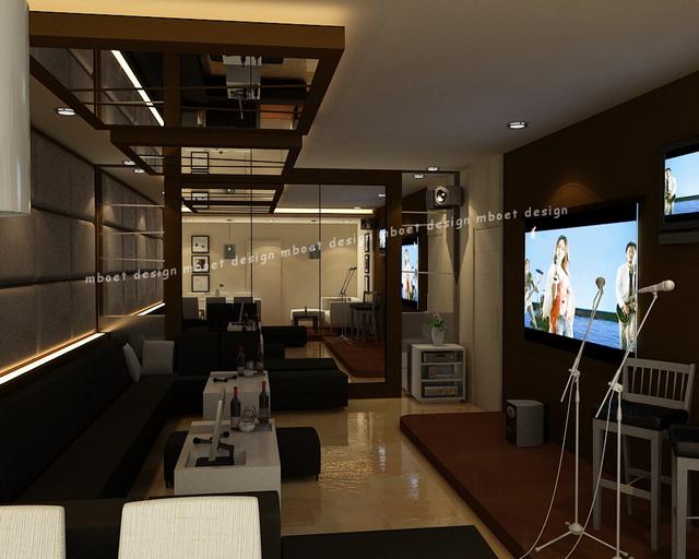 Mboet design karaoke room for Design room karaoke