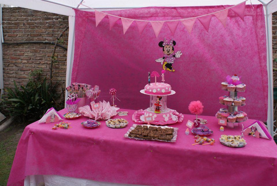 Creaciones Artesanales Flor: Cumpleaños Temático Minnie