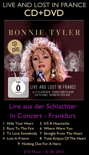 LIVE AND LOST IN FRANCE CD+DVD 2013