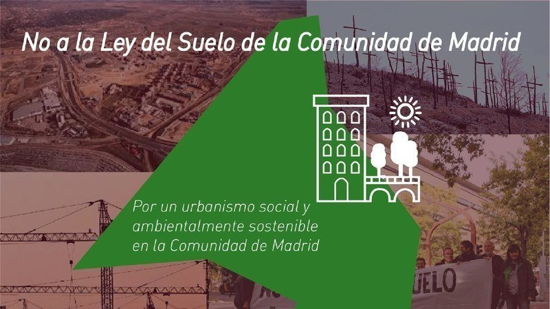 NO A LA LEY DEL SUELO DE LA COMUNIDAD DE MADRID