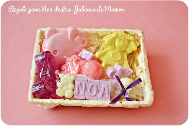 sorteo jabones personalizados los jabones de mamen blog mama de noa