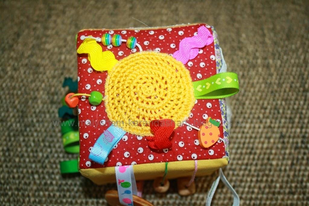 тактильная игрушка для малышей