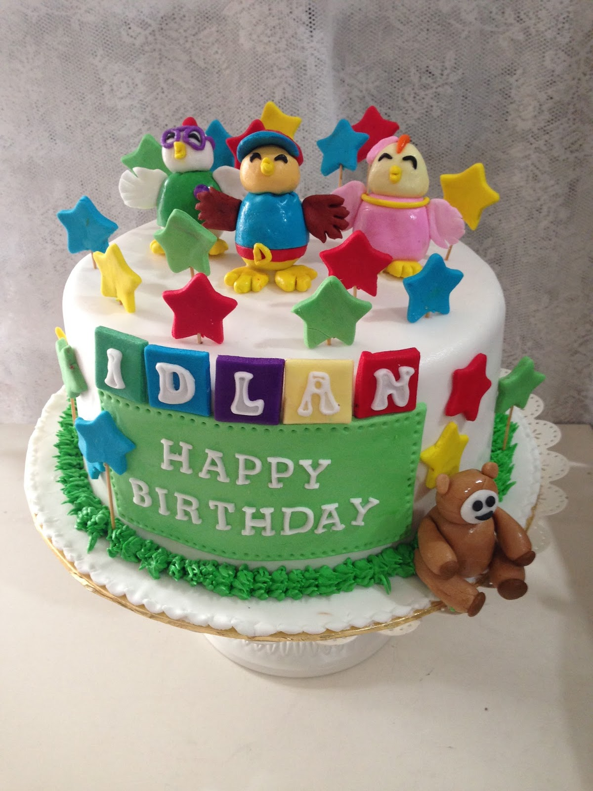 Cake Images For Friends : ninie cakes house: Didi and Friends Fondant Cake