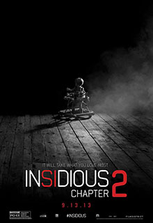 Insidious Chapter 2 Movie Poster 2013