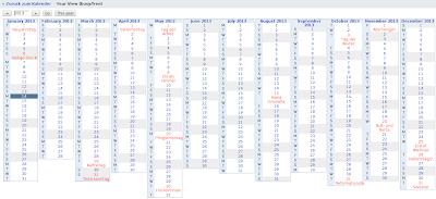 syngron new google calendar wall like column year view