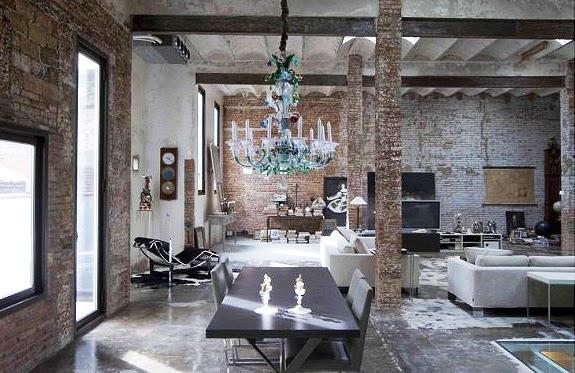 Decotips claves del estilo industrial toma nota for Diseno de apartamentos industriales