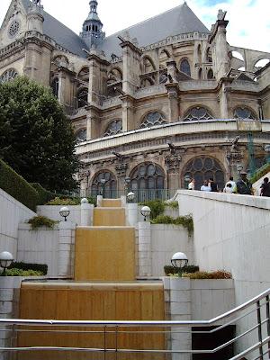 Saint Eustache desde Chatelet