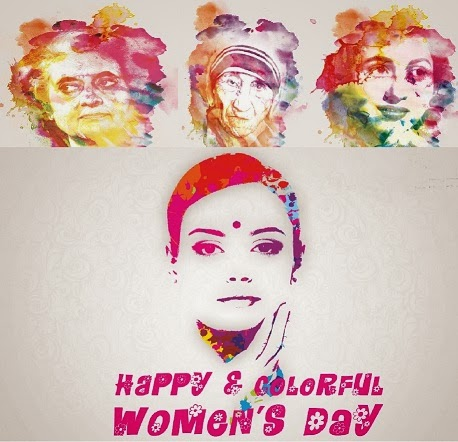 Happy Womens Day 2014 international womens day wallpaper of womens day song ringtone of womens day greeting international woman day quotes gift for women day day of she mother teresa madhubala indira gandhi kalpana chavla