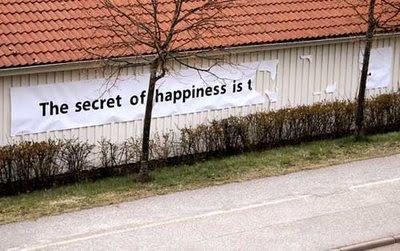 fortuna, segreto della felicità, felicità