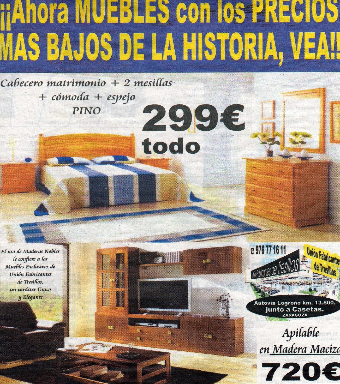 Uni n fabricantes de tresillos diciembre 2012 for Tresillos baratos en madrid