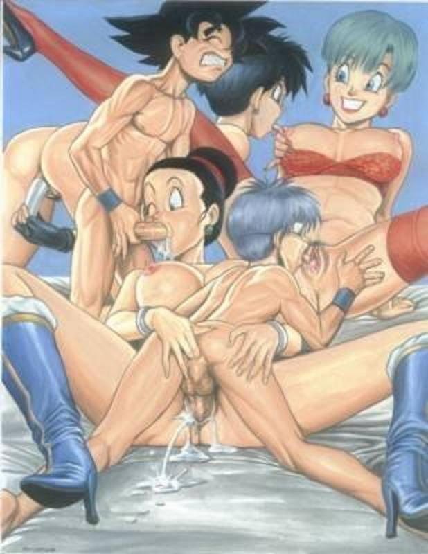 Sexy dragonball and group sex