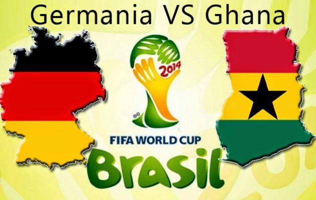 Germania vs. Ghana live 21 iunie TVR