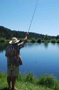 Practice on Flat Water to Perfect Your Cast