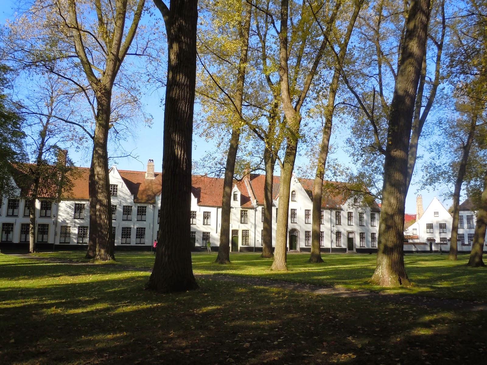 Bruges Jardim das Beguinas de Flandres