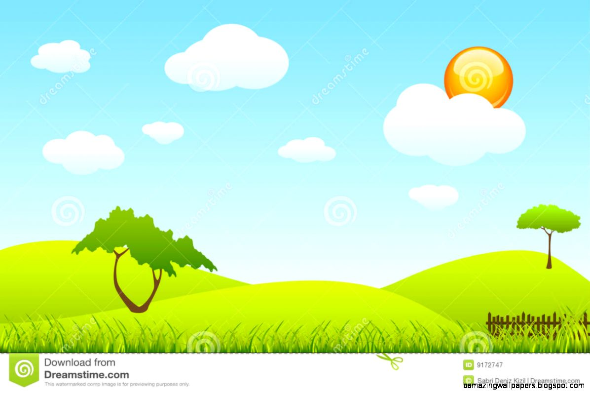 Landscape Spring Scene Royalty Free Stock Image   Image 9172736