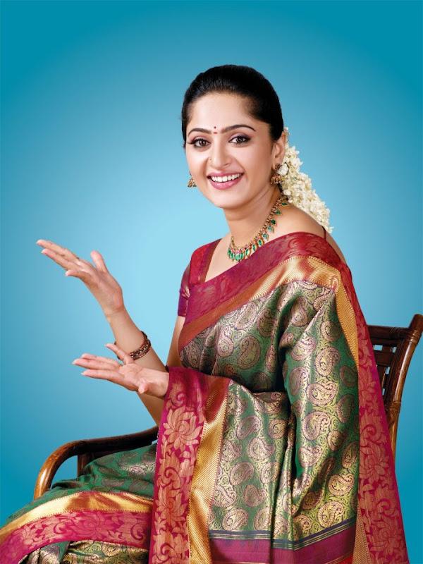 Anushka at Chennai Silks Photoshoot wallpapers