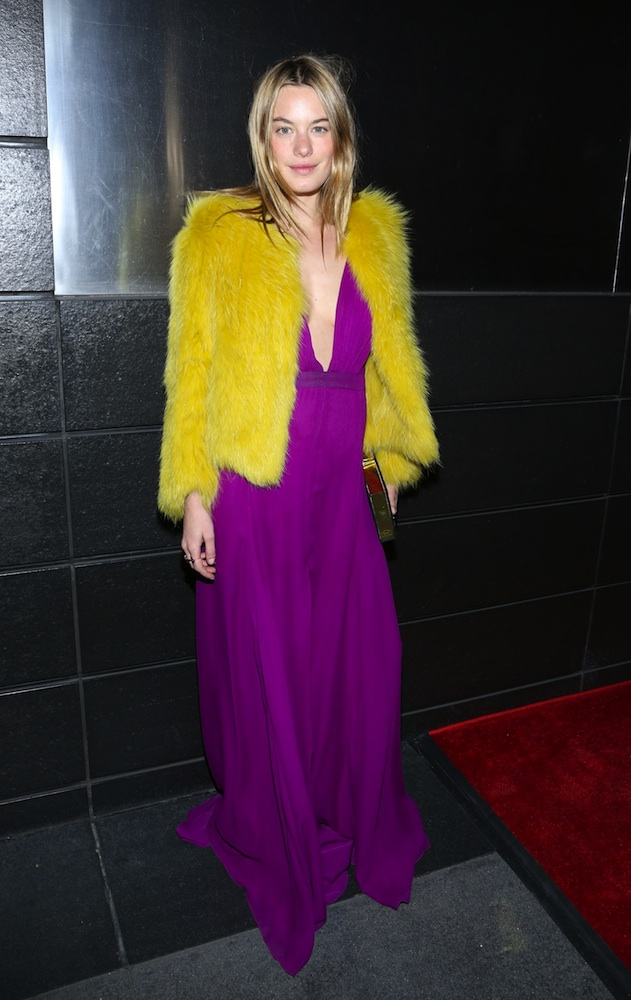 Camille Rowe's Style dress