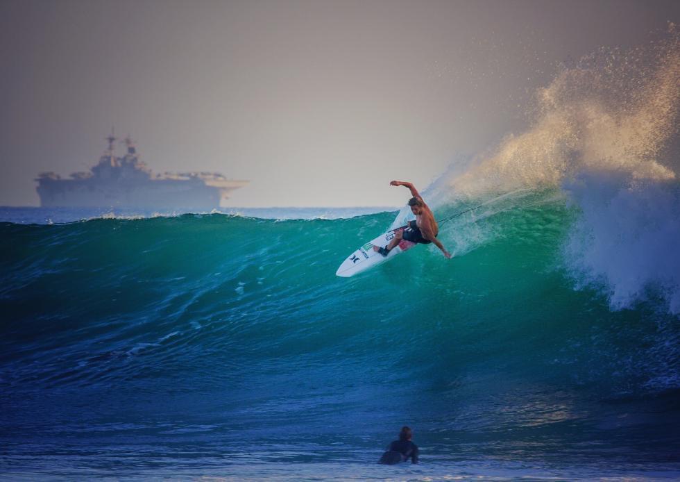 62 John John Florence Trestles Free Surf Hurley Pro at Trestles Foto WSL Brett Skinner