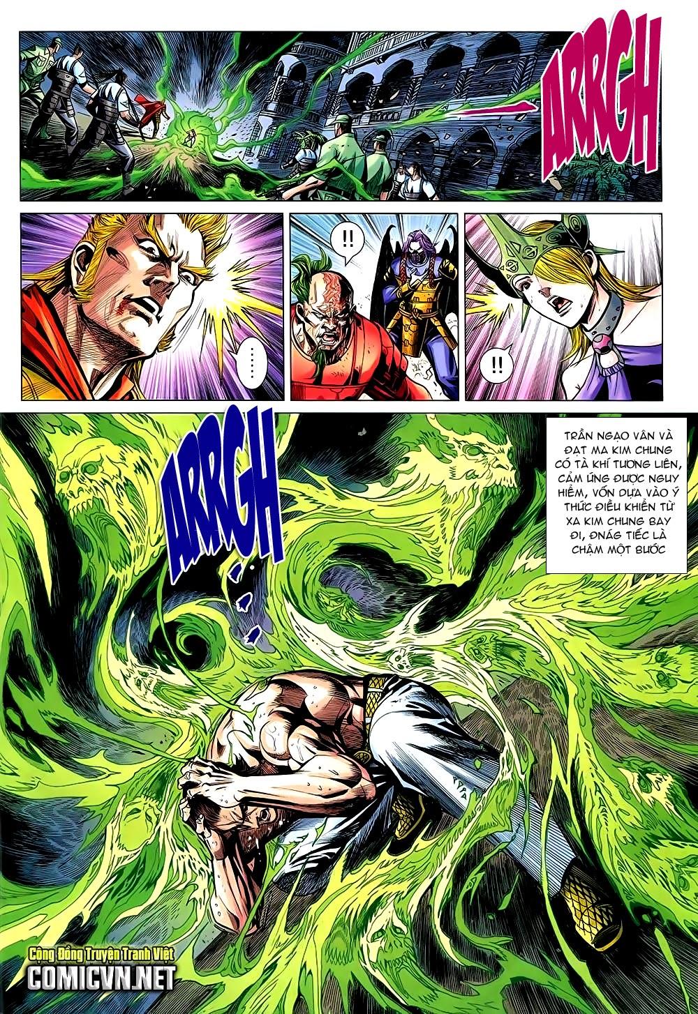 Thạch Hắc Long Truyện Chap 90 - Trang 10