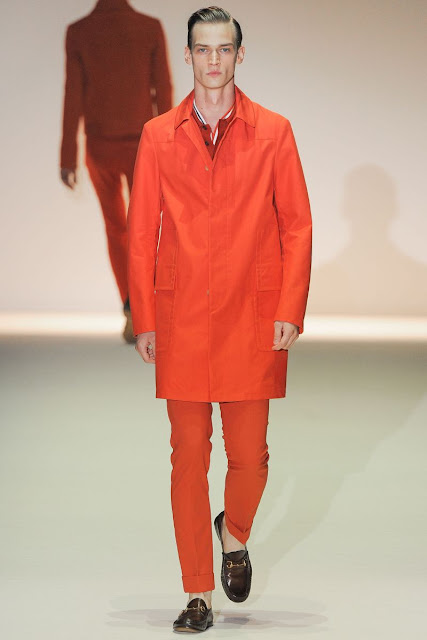 Male model Philipp Bierbaum S/S 2013 Gucci